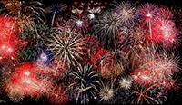 Fireworks - Rose Bowl 2012