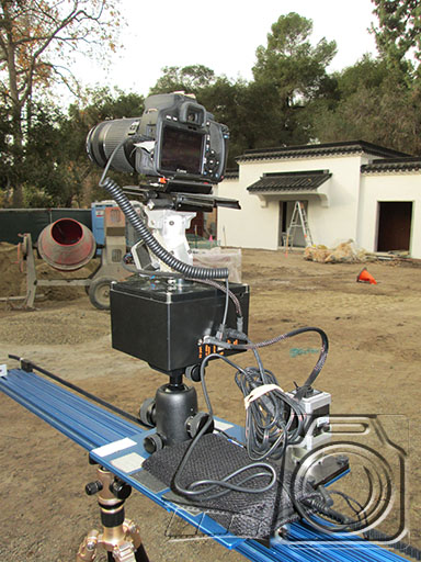 My favorite combination is the eMotimo TB3 and the Dynamic Perception Stage 0 Dolly for slider or rail shots.