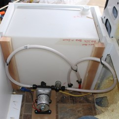 Rv Fresh Water Tank Sensor Wiring Diagram Fender Jaguar Install And Grey Systems Build A Green In Forward Part Of Bed Enclosure