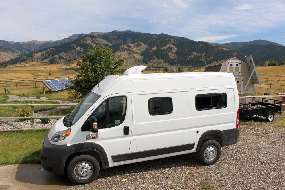 our promaster camper van conversion