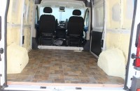 Our ProMaster Camper Van Conversion - Flooring - Build A ...