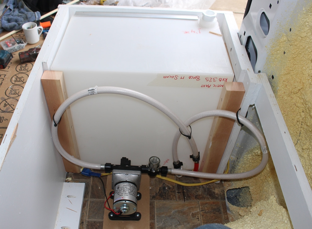 Our ProMaster Camper Van Conversion  Plumbing and the
