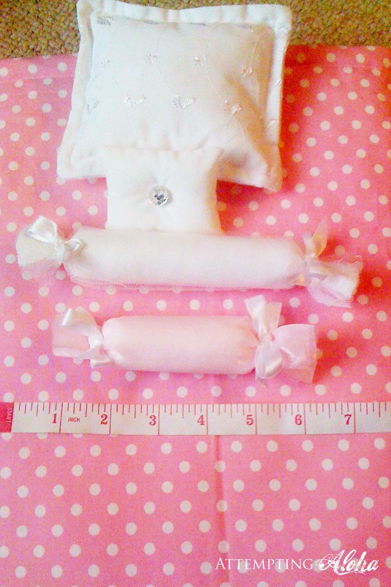 doll bedding tutorial 2 jelly roll