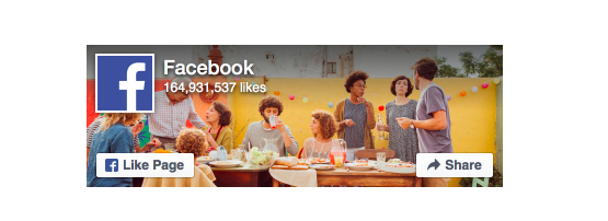 Embed Facebook page