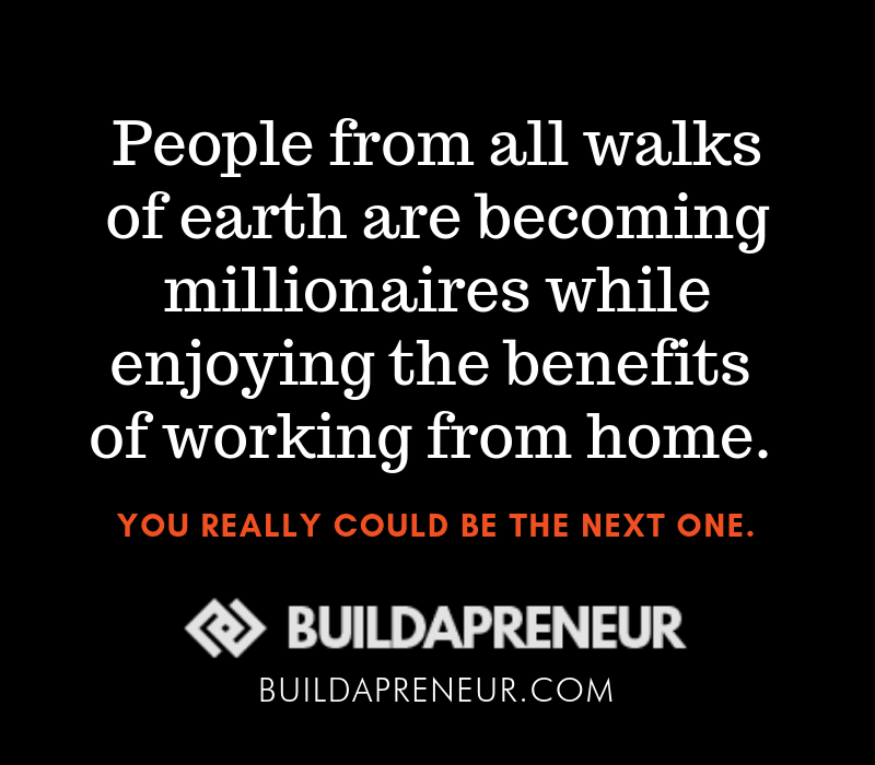 Quote Image - Millionaires that Work From Home