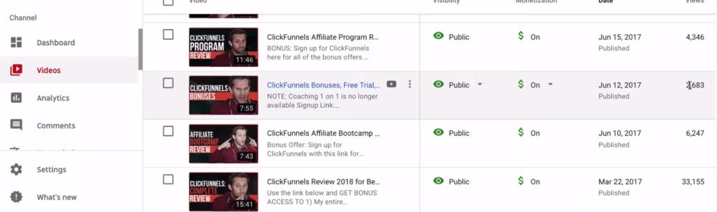 affiliate marketing strategy YouTube