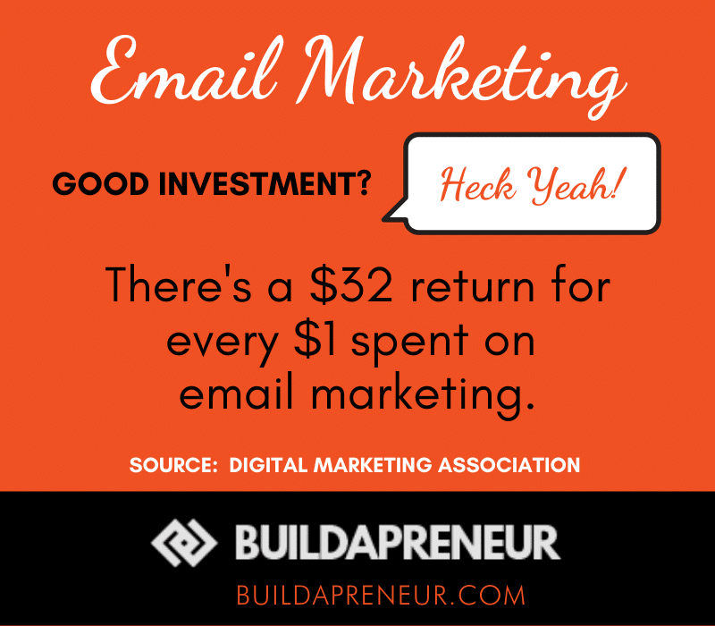 List Building - importance of email marketing for bloggers