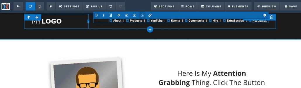 How to build your website menu