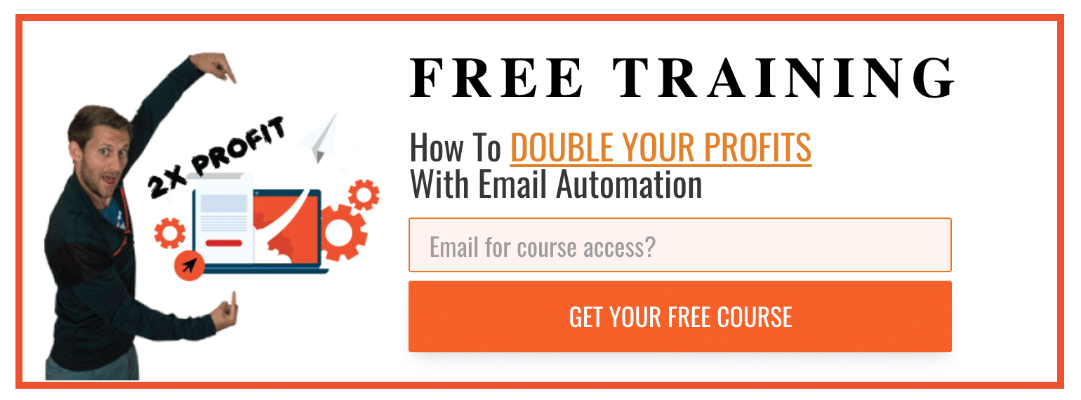email marketing tutorial popup example