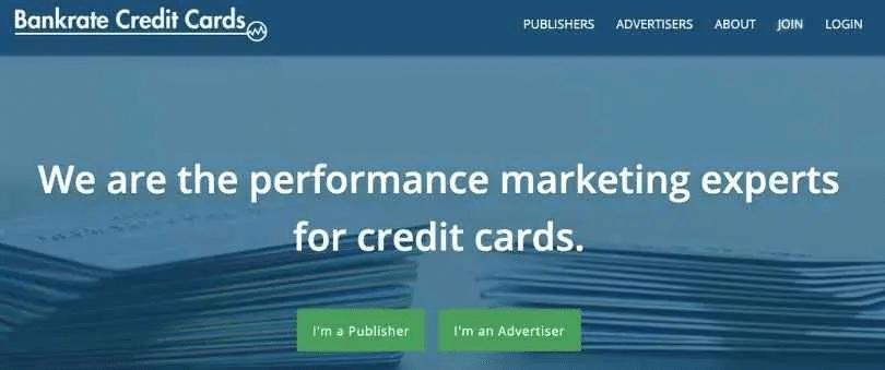 Credit card affiliate