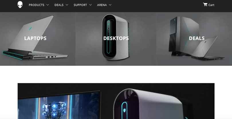 Video gaming affiliate programs Alienware