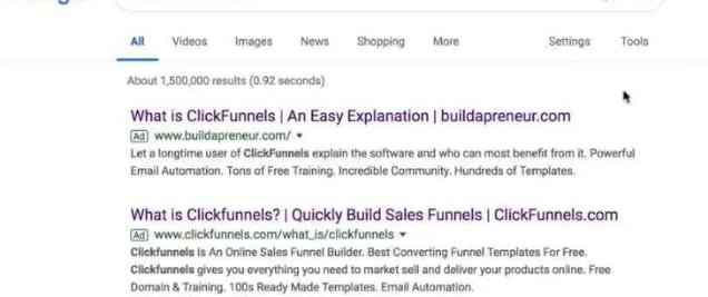 click funnels affiliate marketing tip