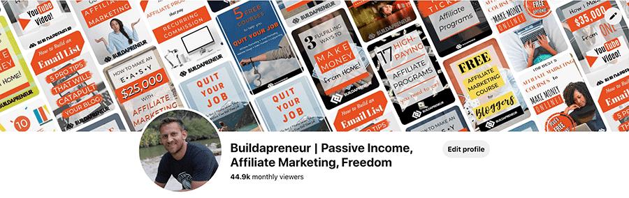 Pinterest affiliate programs