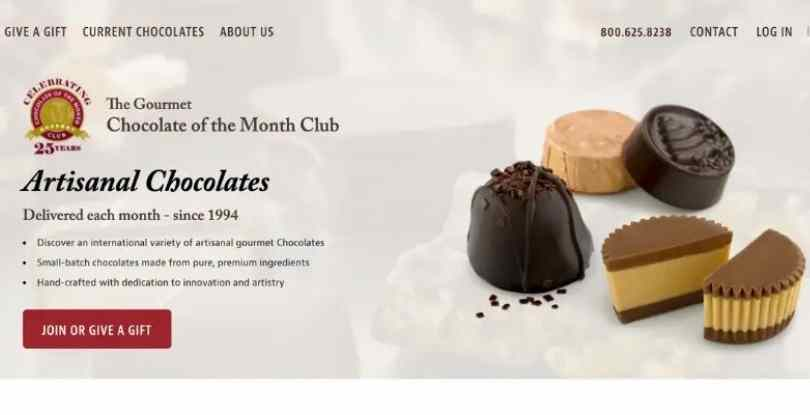 Chocolate of the Month