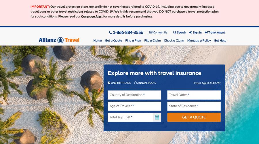 Allianz travel insurance affiliate programs
