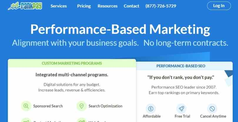 best pay per lead companies - Rankpay