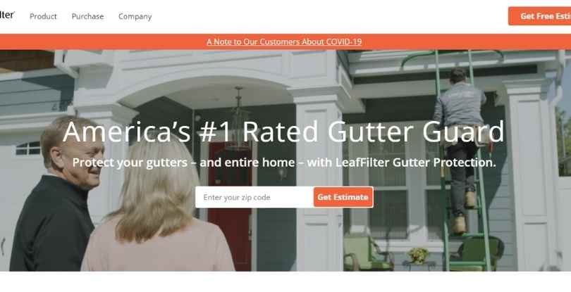 pay per lead affiliate marketing - Leaf Filter