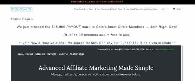 Cole And CoddleAffiliate Program