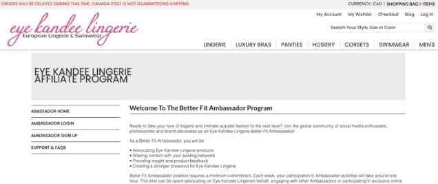 Eye Kandee Affiliate Program