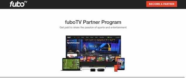Fubo TV Affiliate Program