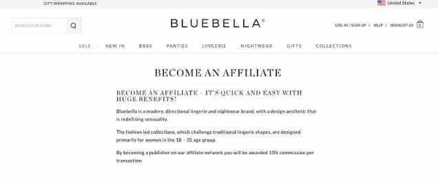 Bluebella Affiliate Program