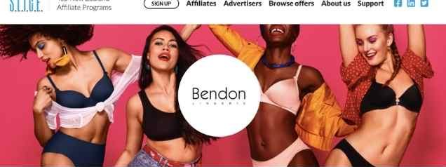 Bendon Lingerie Affiliate Program
