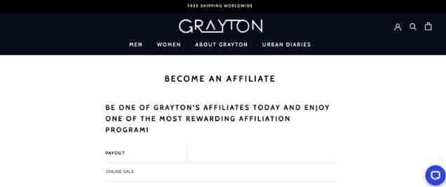 GraytonAffiliate Programs