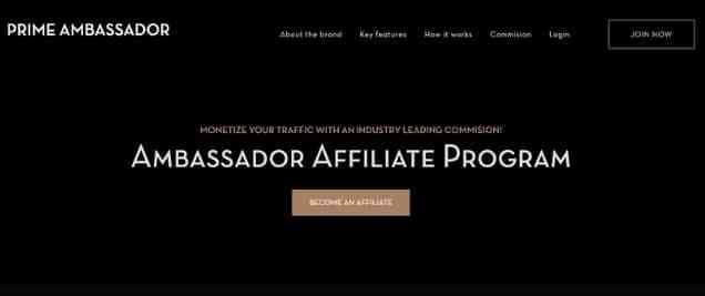AmbassadorAffiliate Program