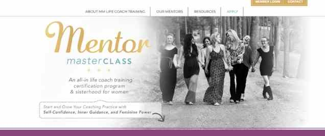 Mentor Masterclass Affiliate Program