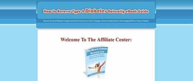 Reverse Type 2 Diabetes Naturally Affiliate Program