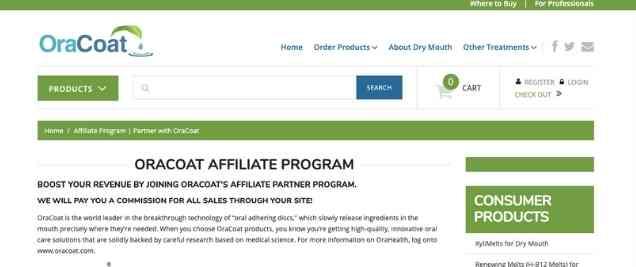 OraCoat Affiliate Program