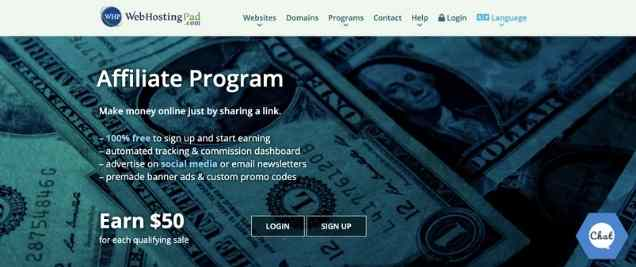 WebHostingPad Affiliate Program