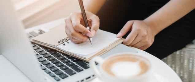 Side Hustles For Moms - Freelance writing