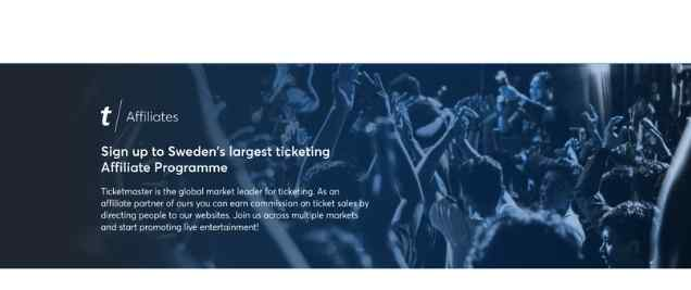 TicketMasterAffiliate Program