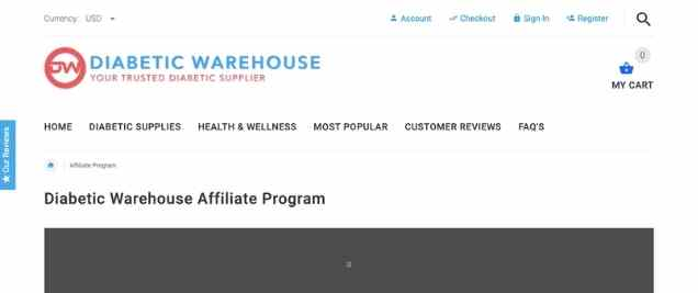 Diabetic Warehouse Affiliate Program