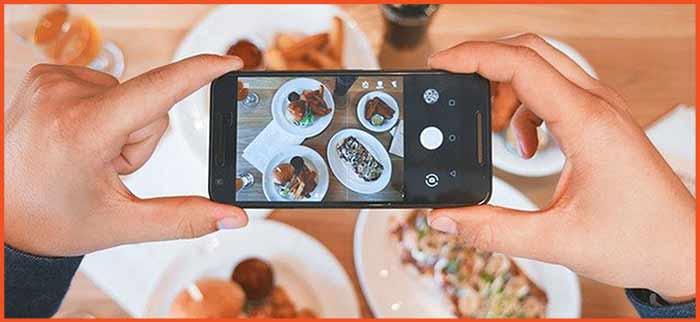 side hustle idea #2 - food photographer