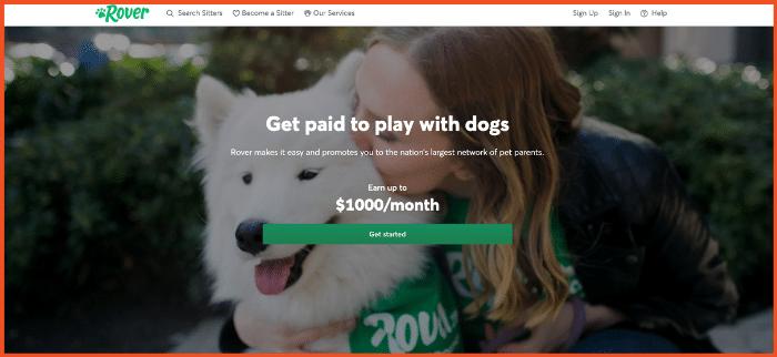 Best Side Hustle Ideas Dog Sitting