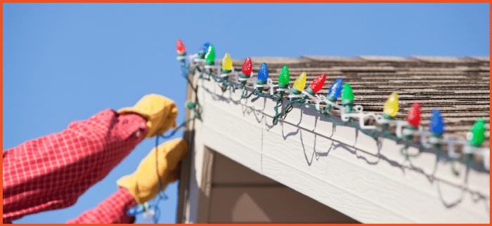 Hang Christmas Lights