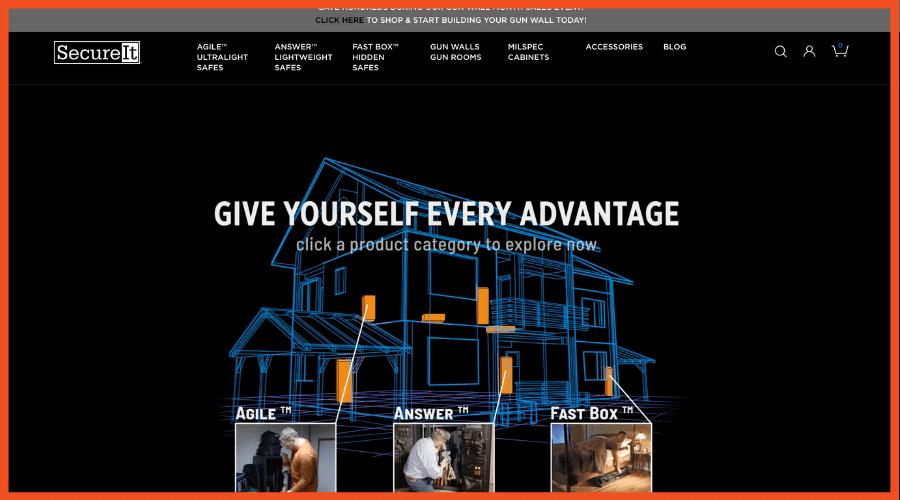 Survival Affiliate Programs - SecureIt Gun Safe