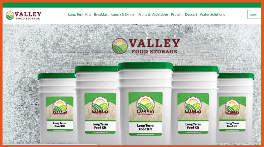 Survival Affiliate Programs - Valley Food Storage