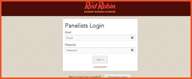 Red Robin Panelist