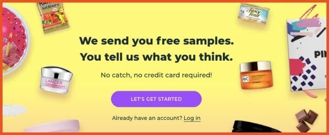 Get Paid To Test Products - PinchMe