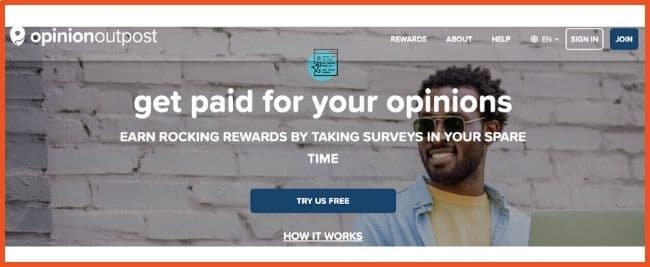 Get Paid To Test Products - Opinion Outpost