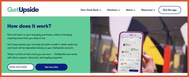 Cashback Apps - GetUpside