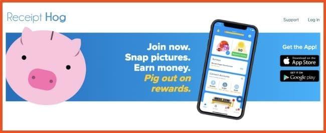 Cashback Apps - Receipt Hog