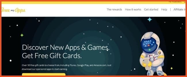 Apps That Give Free Gift Cards - FreeMyApps