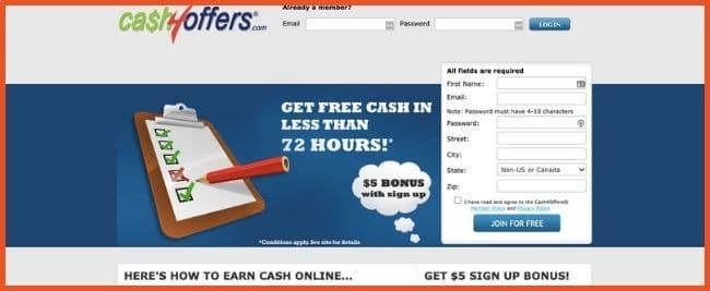 Cash4Offers