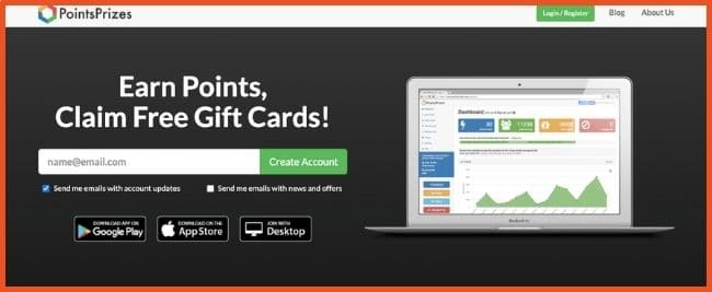 Apps That Give Free Gift Cards - PointsPrizes