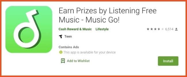 Get Paid to Listen to Music - MusicGo