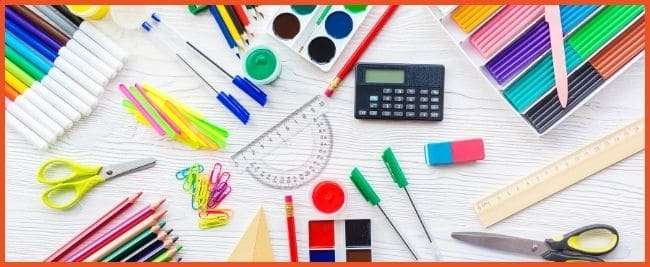 Custom School Supply Designer